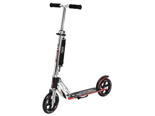 HUDORA Big Wheel Stads Scooter Step Kinderen, black/silver/red